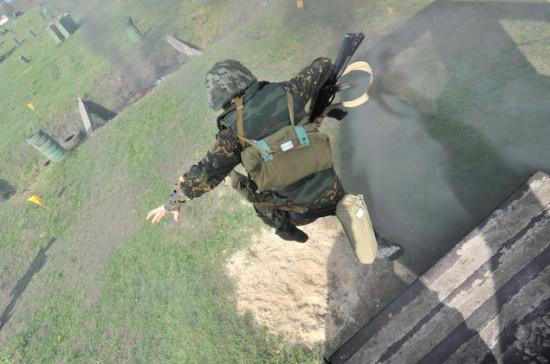 Российские военные провели учения по манёвренной обороне в Южной Осетии