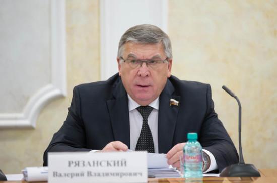 План развития Кисловодска стал итогом работы Совфеда и региональных властей — Рязанский