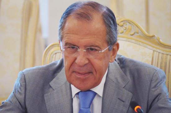 Лавров примет участие во встрече глав МИД G20