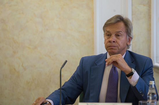 Пушков: ПАСЕ изначально была нацелена на осуществление давления на Россию