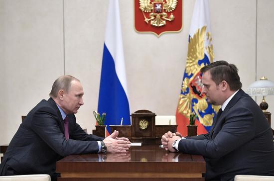ВРИО губернатора Новгородской области стал Андрей Никитин