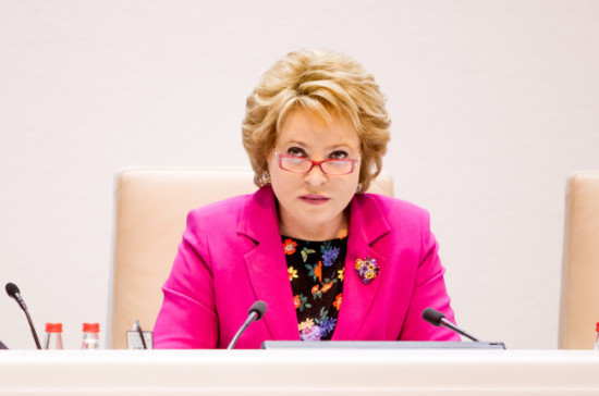 Матвиенко: вопрос Крыма обсуждению неподлежит