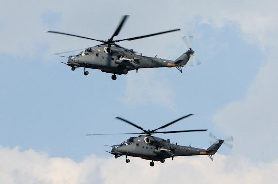Поставки русских вертолётов вИндию начнутся в 2018г.