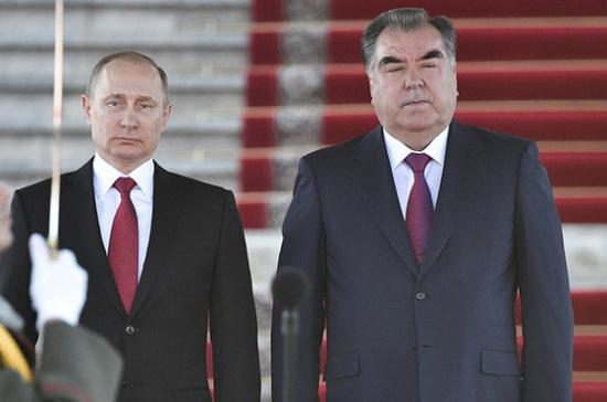 Российскую военную базу задействуют для защиты таджикско-афганской границы— Путин