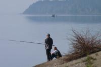 В лесу могут разрешить рыбачить