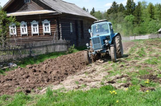 Фермерам разрешат строить себе дома на землях сельскохозяйственного назначения
