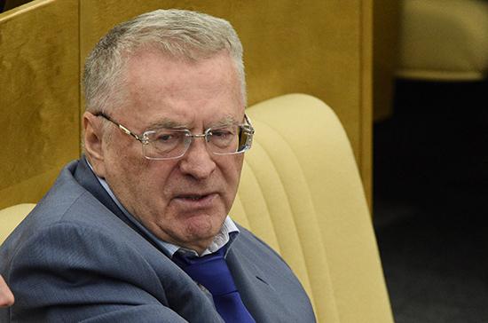 Жириновский раскритиковал «Единую Россию»