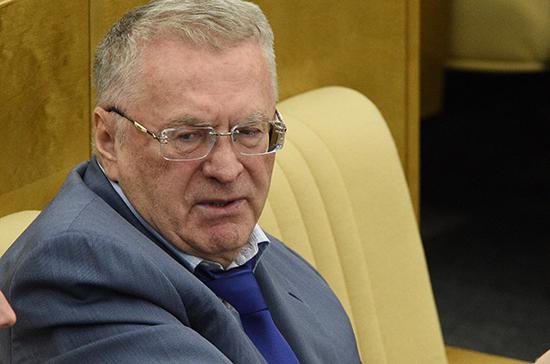 Жириновский связал убийство Вороненкова спровокацией спецслужб государства Украины