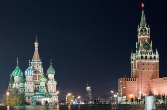 Московский Кремль поучаствует вакции «Час Земли»