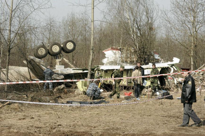 Самолёт польского президента не сбивали и не взрывали