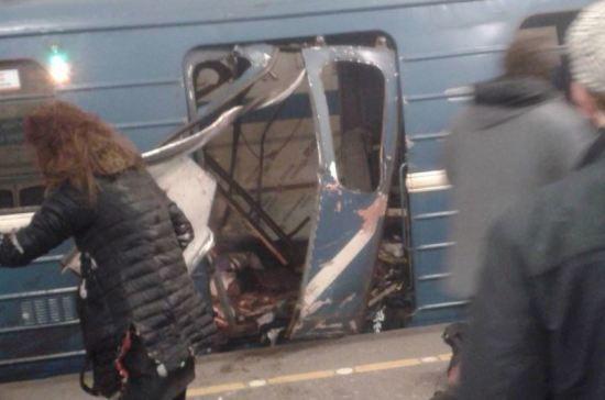 Взрыв в петербургском метро: рассматриваются все версии