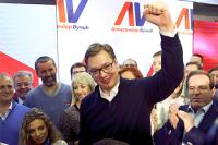 Премьер Сербии пересаживается в президентское кресло