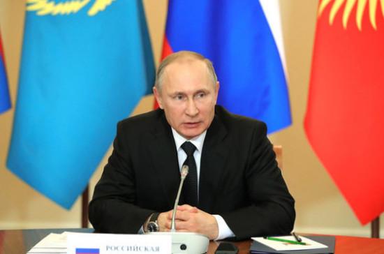 Путин встретится с главами спецслужб стран СНГ 5 апреля