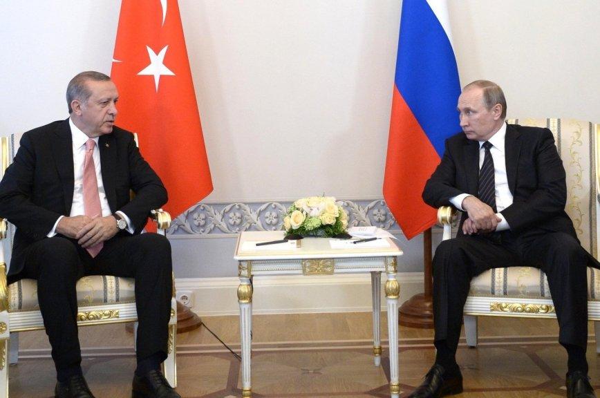 Путин и Эрдоган заявили о дальнейшем развитии сотрудничества в антитеррористической сфере