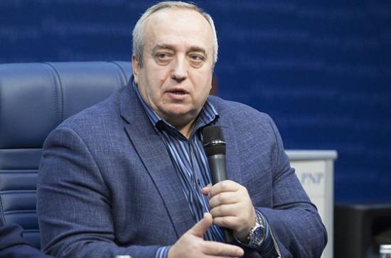 «Евровидение»  стало разменной монетой в политических играх киевского режима — Клинцевич