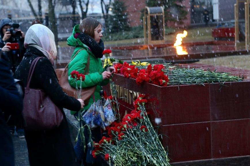 Москва скорбит вместе с Санкт-Петербургом