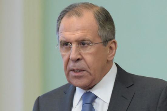 Лавров сравнил удар США по Сирии со вторжением в Ирак