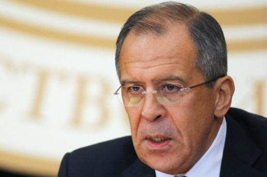 Лавров: удары США по Сирии выгодны тем, кто хочет сменить власть в САР силовым путём