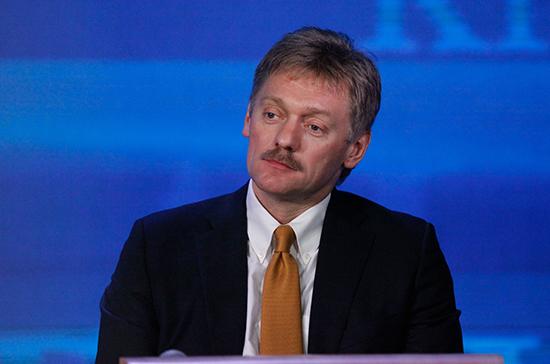 Песков рассказал о реакции Путина на удар США по авиабазе в Сирии