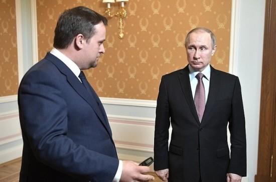 Врио главы Новгородской области представил Путину «дорожную карту» по решению проблем региона