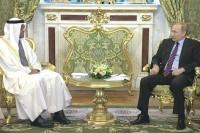 Путин обсудил Сирию с наследным принцем Абу-Даби