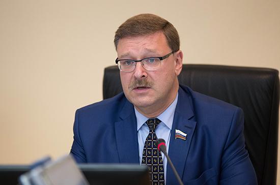 Косачёв назвал санкции США против ученых Сирии попыткой подменить расследование химатаки