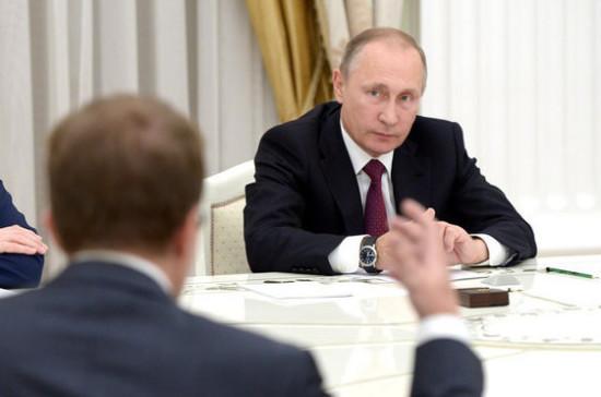 Путин: госкомпании вынудят чаще закупаться умалых исредних учреждений
