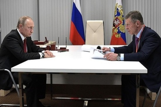 Козак отчитался перед Путиным по задачам летнего отдыха