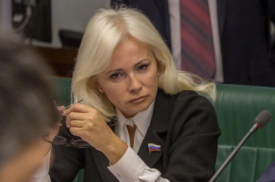 Сенатор Ковитиди пригласила сирийских детей на отдых в Крым