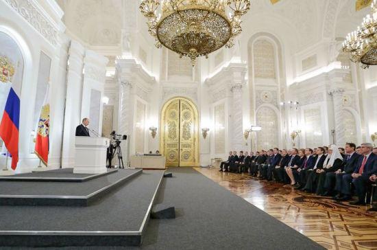 Владимир Путин:«Мы готовы принять вызов времени и победить»