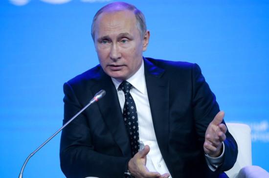 Курс рубля нельзя регулировать искусственно— Путин