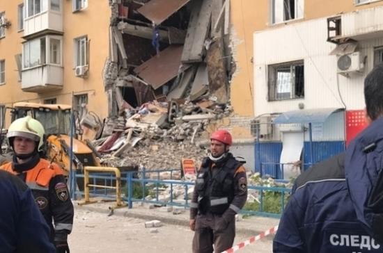 ВВолгограде при взрыве газа погибли два человека