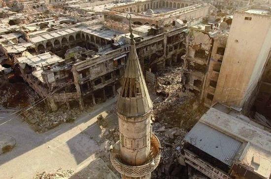 Война в Сирии в объективах фотокамер