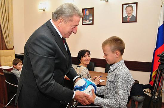 Сенатор Лукин: поддержка детей — серьёзная инвестиция в будущее России