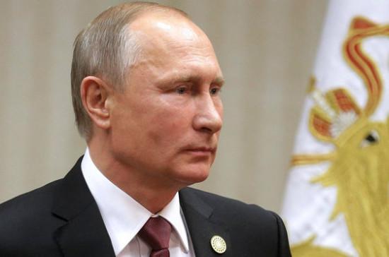 Путин наградил служащих метро Петербурга задействия вовремя теракта