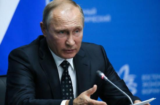 Путин подтвердил готовность России наращивать связи со странами Африки
