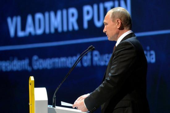 Путин: Россия заинтересована в расширении географии участников выставки HeliRussia
