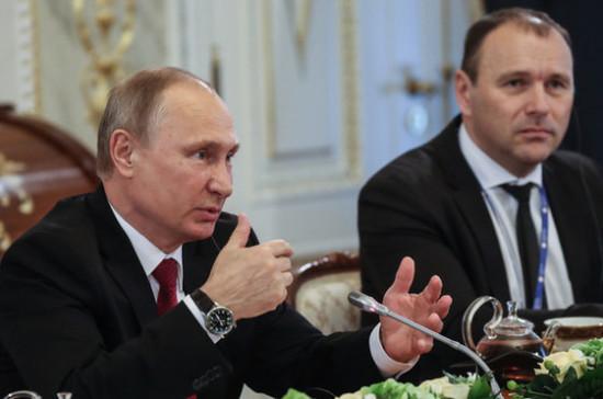 Путин считает возможной демилитаризацию Южных Курил