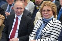Валентина Матвиенко стала «крёстной матерью» танкера-газовоза