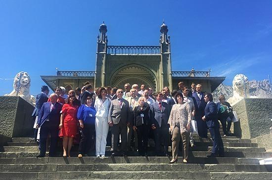Русские со всего мира собрались в Крыму
