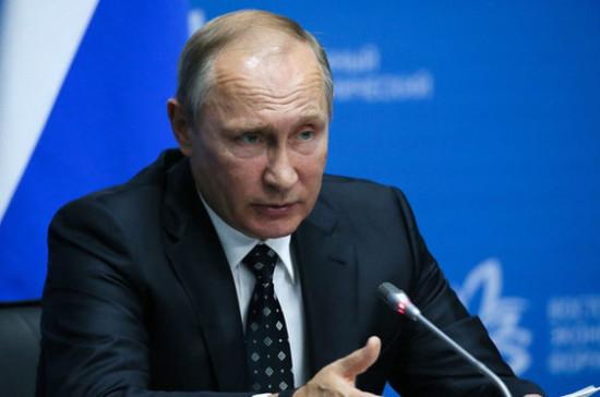 Путин поручил Генпрокуратуре проверить исполнение продэмбарго