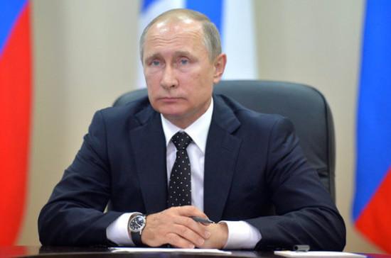 Путин выразил сожаления  президенту Португалии всвязи сжертвами отприродных пожаров