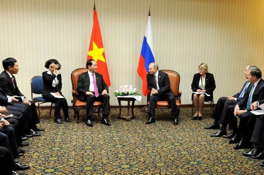 Президент Вьетнама посетит софициальным визитом РФ