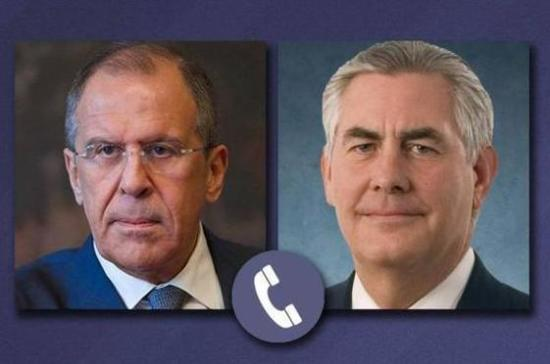 Лавров указал Тиллерсону наиллюзорность попыток надавить на Российскую Федерацию санкциями— МИД