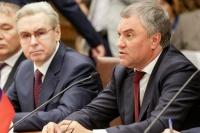 Володин встретился с главой Палаты депутатов парламента Чехии