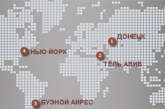 В столицах мира