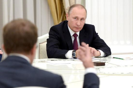 Путин обсудил счленами Совбеза ситуацию вСирии