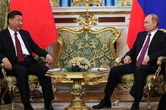 СиЦзиньпин прибыл в столицуРФ сдвухдневным рабочим визитом