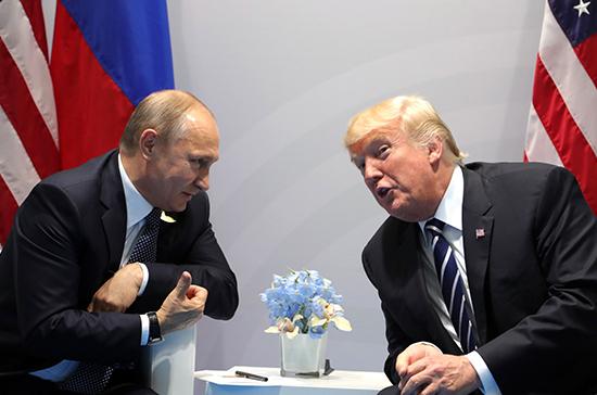 Путин считает, что у РФ и США есть шанс восстановить отношения
