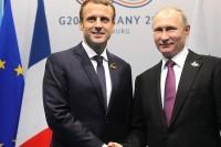 Путин и Макрон обсудили реализацию достигнутых в Версале договорённостей